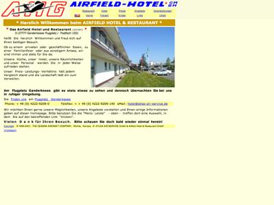Hotelverzeichnis fair hotels airfield hotel restaurant for Airfield hotel ganderkesee