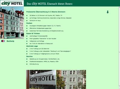 Hotelverzeichnis Fair Hotels City Hotel 99817 Eisenach