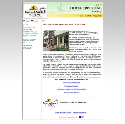 hotelverzeichnis fair hotels hotel cristobal 22301. Black Bedroom Furniture Sets. Home Design Ideas