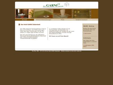 Hotel Garni Erfurt Buddestr