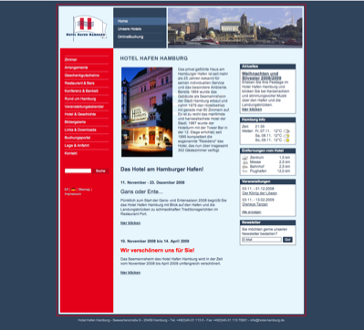 hotelverzeichnis fair hotels hotel hafen hamburg 20459. Black Bedroom Furniture Sets. Home Design Ideas