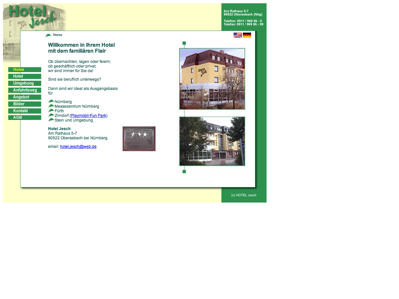 hotelverzeichnis fair hotels hotel jesch 90522 oberasbach am rathaus 5 7 telefon 0911. Black Bedroom Furniture Sets. Home Design Ideas