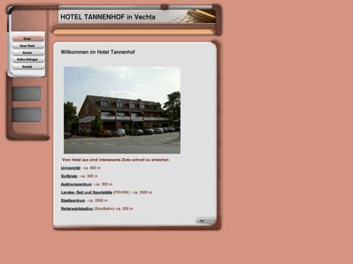 hotelverzeichnis fair hotels hotel tannenhof 49377. Black Bedroom Furniture Sets. Home Design Ideas
