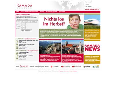 Ramada Hotel Frankfurt Weserstr