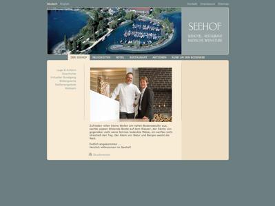 Hotel Seehof Immenstaad Parken